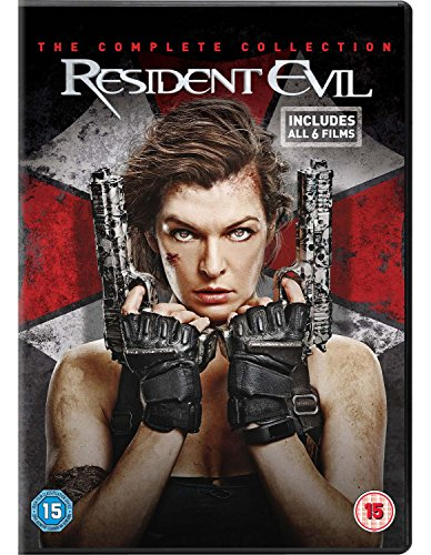 Resident Evil: The Complete Collection [DVD] [2017]