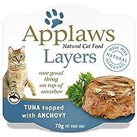 Applaws アプローズ キャットフード アンチョビをトッピングしたツナのレイヤー(レイヤー) 猫用 70g