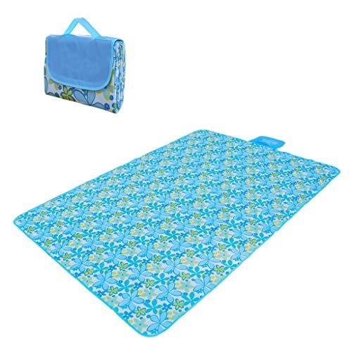 OYWNF Manta Plegable de Picnic Impermeable Acolchado Tienda de campaña al Aire Libre Colchoneta de Dormir Oxford Tela Tela de Camping (Color : A)
