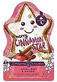 T:by tetesept Merry Cinnamon Star - Gel de baño con aroma invernal, espuma de baño esponjosa para una experiencia de baño invernal, 1 x 40 ml