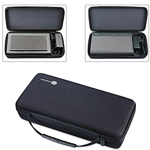 Zaracle Tragbare Aufbewahrungstasche / Schutzhülle für B&W Bowers&Wilkins T7 Bluetooth-Lautsprecher/Creative Sound Blaster Roar 1 Roar 2 Bluetooth-Lautsprecher
