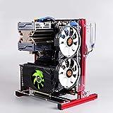 Boîtier PC Ouvert, châssis ATX/M-ATX/ITX Open, châssis de Plate-Forme de Test pour l'overclocking...