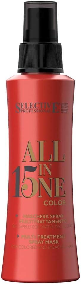 Selectivo - Todo en Uno 15 COLOR - 150 ml Spray para cabello color y rubio.