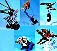 SR ゾイド ZOIDS アクションアートコレクション ノーマル全5種
