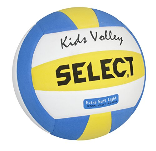 Select Kids Volleyball, 4, weiß blau gelb, 2144600205
