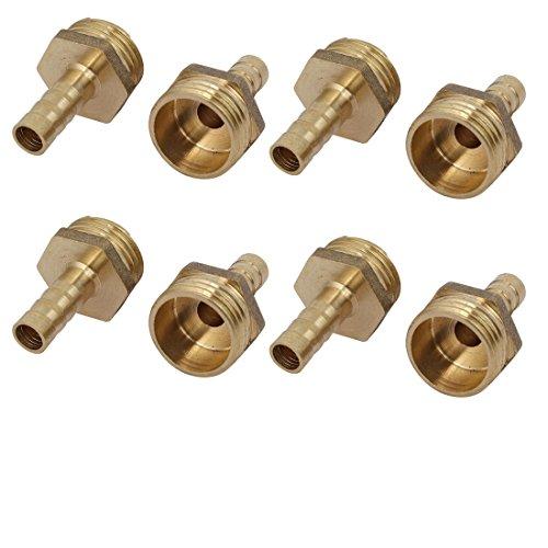 Aexit 1 / 2BSP maschio filetto 8mm tubo flessibile raccorderia raccordo accoppiatore adattatore 8 pz ID: 175851