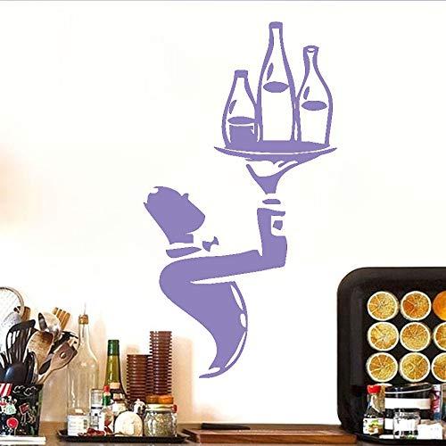 Calcomanía de pared de snowboard de salto deportivo de alta calidad para niños Dormitorio decorativo autoadhesivo etiqueta de pared de retrato de vinilo extraíble ~ 1 43 * 79 cm