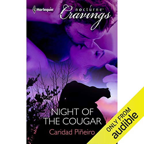 Night of the Cougar audiobook cover art