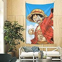 ワンピース ポスター 壁掛け 背景布 インテリア 壁飾り 部屋 ギフト 布製 装飾用品 90*60in