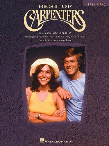 Best of Carpenters (Easy Piano (Hal Leonard))