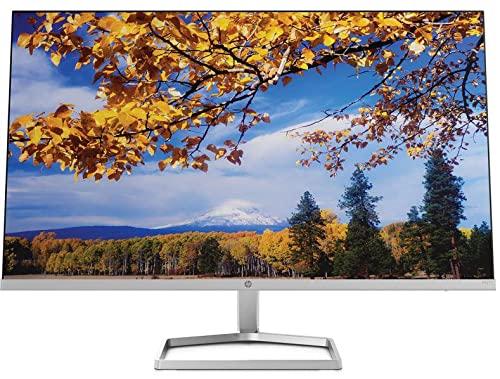 """HP M27f – Monitor de 27"""" Full HD (1920 x 1080, 75Hz, 5ms, IPS LED, 16:9, ADM FreeSync, HDMI, VGA, Antirreflejo, Eye Ease, Inclinación Ajustable, Pasacables) Negro"""