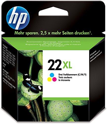 Patrone HP Nr.22XL cy/ma/ye C9352CE 5ml