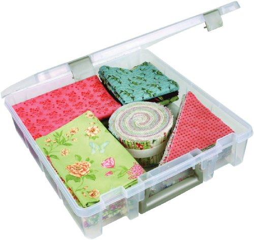 ArtBin Super Satchel 1-Compartment Box- Plastic Art and Craft Supply Storage Container, 6955AB