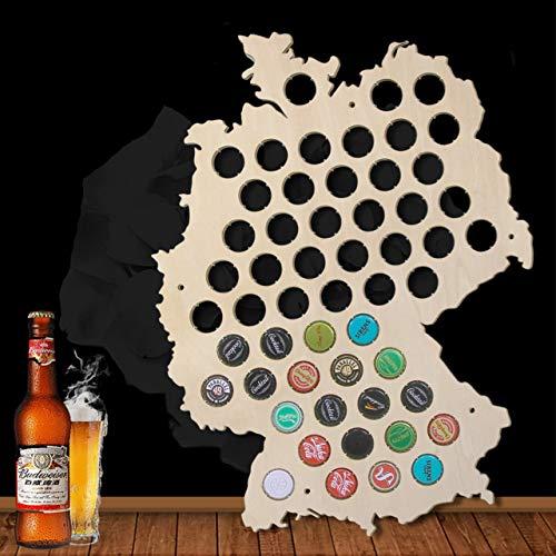 Deutschland Karte Bierkarte Bier Gap Karte 109 Farben - ein Geschenk für Männer Eine lustige Geschenkidee für Bierfreunde und Geschenke für Bierfreunde & Bier Geschenke - Platz