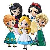 Klycbds Muñecas Lindas Blancanieves Cuento De Hadas Sirena Cenicienta Princesa Figura Modelo Decorac...