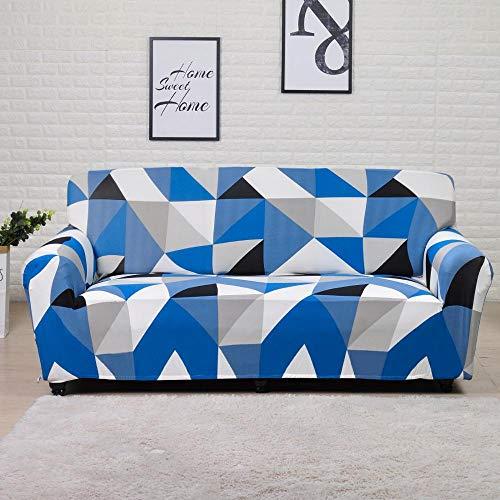 Housse de canapé Extensible Housse de Meuble en Polyester Causeuse Housse de canapé Housse de Chaise pour Salon A25 2 Places