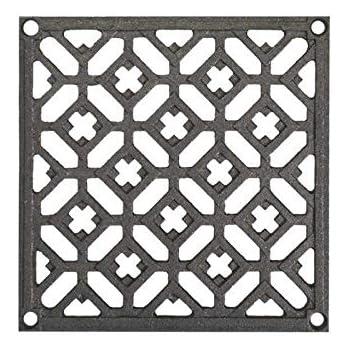 toutes les dimensions. grille en acier galvanis/é carr/ée et rectangulaire Grille galvanis/ée anti-talon