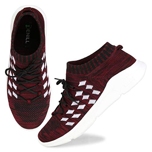 Denill Sports, Running (Casual) Shoes for Women and Girls UK- 5 Maroon