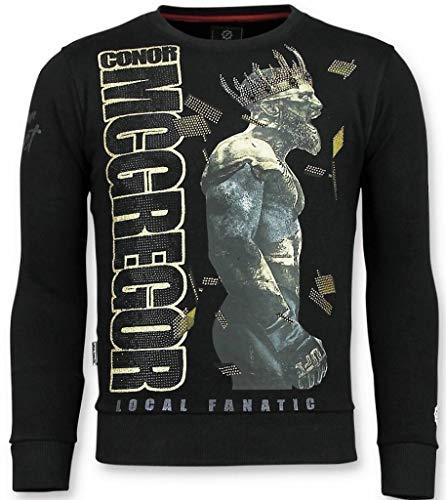 Notorious Trui - King Mcgregor Sweater Heren - Zwart