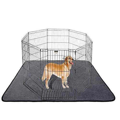 ANWA Washable Dog Pee Pads, Waterproof Dog Training Pad, Dog Playpen Pad Extra Large