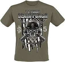GLOBAL Five Finger Death Punch Men's Infantry Special Forces T-Shirt M