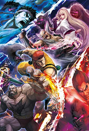 Street Fighter X Tekken - US Video Game Poster - A4 Size Plakat Größe
