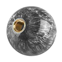 #N/A M12 * 1.25スレッド54mmラウンド手動変速レバーシフターノブ - 灰色