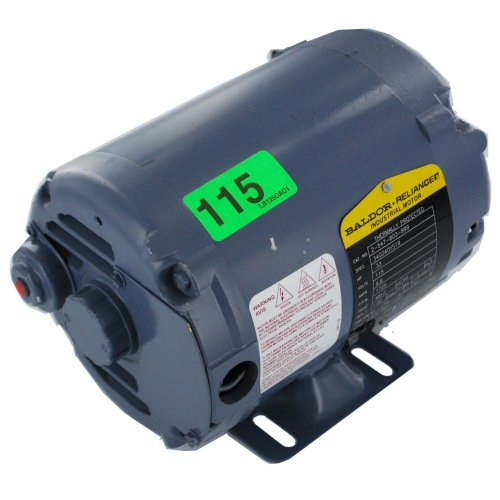 Pump Motor, 4 Bolt Replacement, 115 V