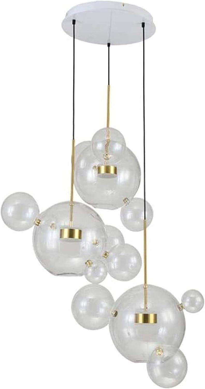 Max Max 67% OFF 74% OFF Sensecrol Chandelier Nordic Glass Ball panes Three