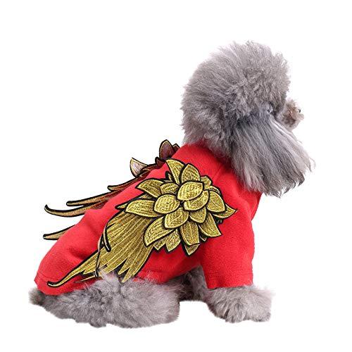 Schiffe aus Deutschland, TriLance Baumwolle Haustier Hund Kleidung Kostüme für Kleine Hund Welpen Katze Lamm Haustier Kleidung Neue Kleidung und Winter Kleidung Klassische Sportmode