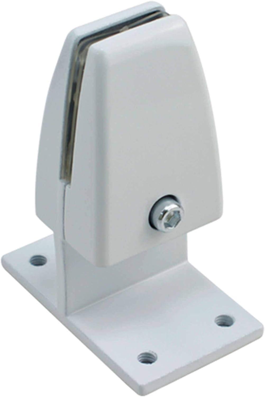 Alliage Daluminium Dossier D/écran Clip De Partition De Bureau Clip De D/éflecteur D/écran Pince /à Bois Clip De Fixation du Verre-N-6Pi/èces