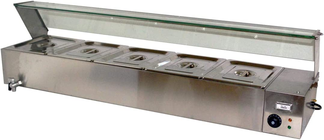 Techtongda Electric Max 62% OFF Display Buffet Food Con Warmer Challenge the lowest price Tray Catering