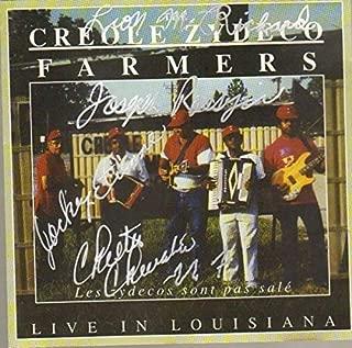 Les Zydecos Sont Pas Sale - Live In Louisiana