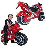 INJUSA Moto correpasillos Hawk Color Rojo para Niños de más de 3 años,...