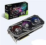 ASUS ROG Strix GeForce RTX 3090 24 GB Gaming Grafikkarte (Nvidia Ampere, PCIe 4.0, DLSS, Raytracing, GDDR6X Speicher, 2x HDMI 2.1, 3x DisplayPort 1.4a, ROG-Strix-RTX3090-24G-GAMING)
