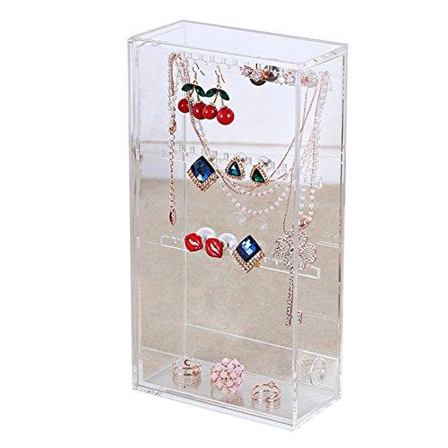 Xinliang XL Orecchino gioielli casella di visualizzazione gioielli gioielli di stoccaggio espositore titolare F021