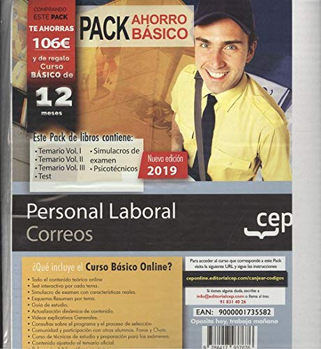 Personal laboral correos pack basico