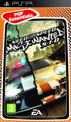 Electronic Arts - EAI05808243 - PSP Need For Speed Most Wanted 5-1-0 Essentials