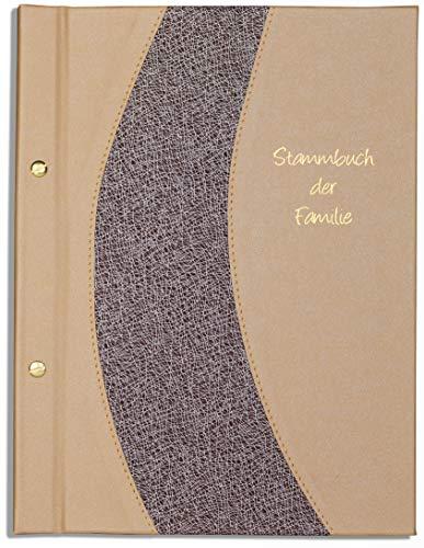 11 Klarsichthüllen A4 Stammbuch Blau Relar Herz Samt Stammbuch der Familie incl