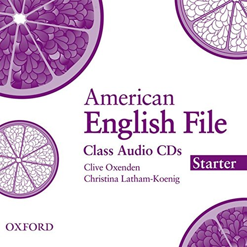 American English File: Starter Class Audio CDs (3)