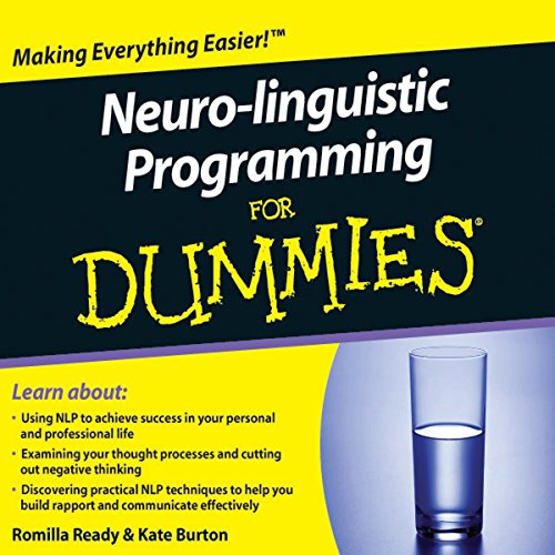 Neuro-Linguistic Programming For Dummies Audiobook audiobook cover art