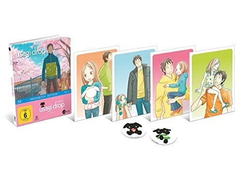 Usagi Drop - Vol. 3 - Limited Mediabook (inkl. 4 Art Cards & 2 Sticker) [Blu-ray]