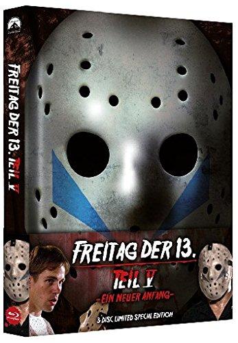 Freitag, der 13. - Teil 5: Ein neuer Anfang - Uncut - Mediabook (+ DVD) (+ Bonus-DVD) [Blu-ray]
