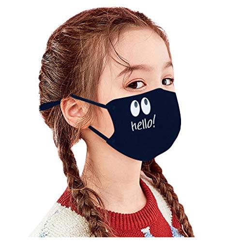 HYLJ Kinder Waschbare Verstellbar Atmungsaktiv Anti Verschmutzung Staub Mehrweg Mundschutz Kopftuch Halstuch,Schlauchtuch,Schal,für Outdoor Radfahren, Laufen, StaubschutzBikertuch Unisex
