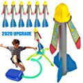 Kids Toys Rocket Launchers, The Best Gifts for Boys and Girls, Fun Outdoor Games for Kid, 6 Toy Rockets in Package, Up to 200 Feet. TIKTOK