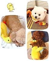 犬 おもちゃ音の出る犬用おもちゃ 犬に噛まれたおもちゃ人形ペットのおもちゃ ムズムズ解消 清潔 安全性と耐久性 歯磨き 小・中・大型犬に適用 可愛い おもちゃ 黄色いアヒルのアヒルの犬のおもちゃ