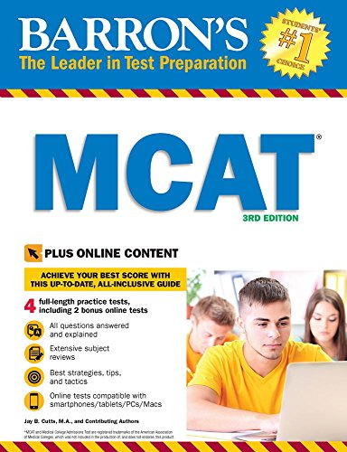 Barron's MCAT with Online Tests