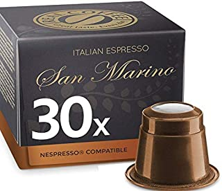 Lungo San Marino, Organic, 30 Capsules, by REAL COFFEE, Denmark