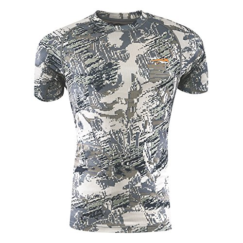 SITKA Gear Core Light Weight Crew - Short Sleeve Optifade Open Country Large