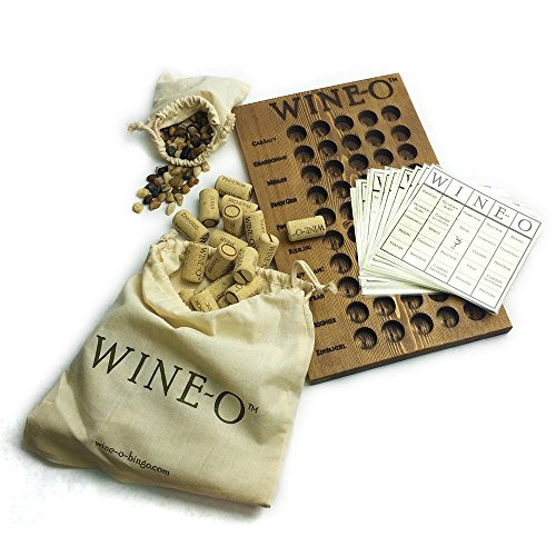 Wine-o, Bingo for Wine Lovers, a Unique Wine Game and Perfect Gift for Wine Lovers